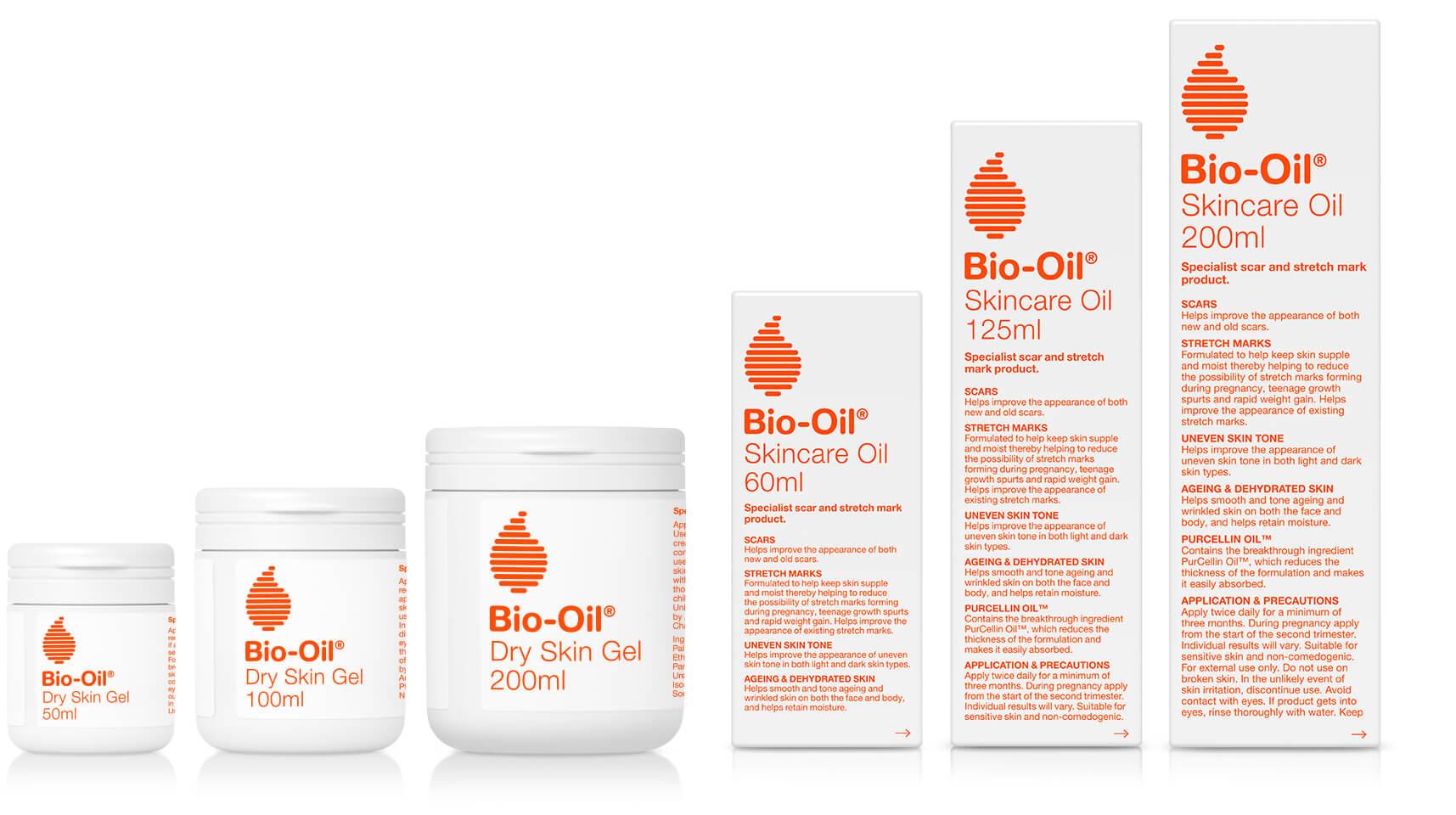 bio-oil products packshots